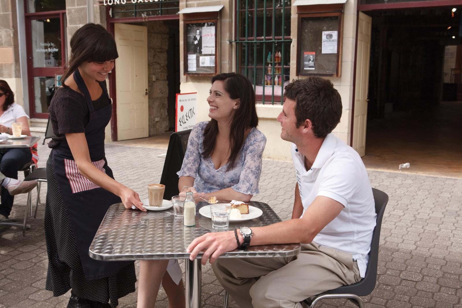 Cafe and Restaurants in Salamanca Hobart