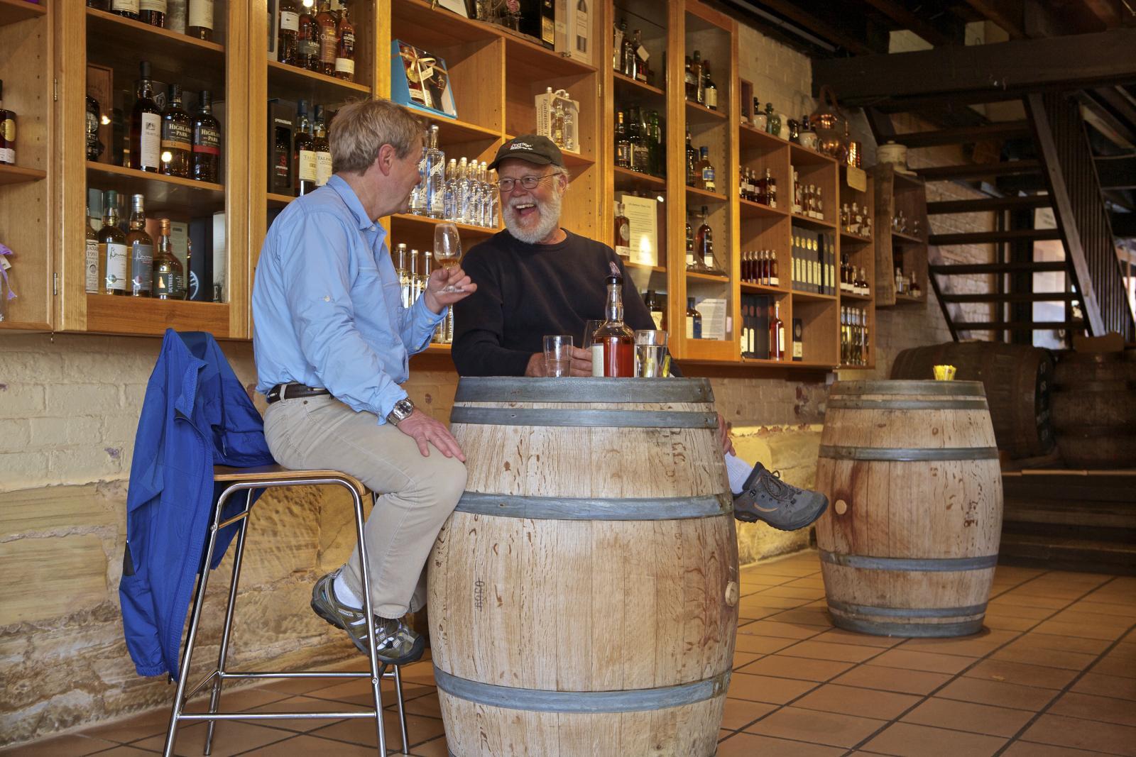Whisky at Lark Distillery in Hobart Tasmania