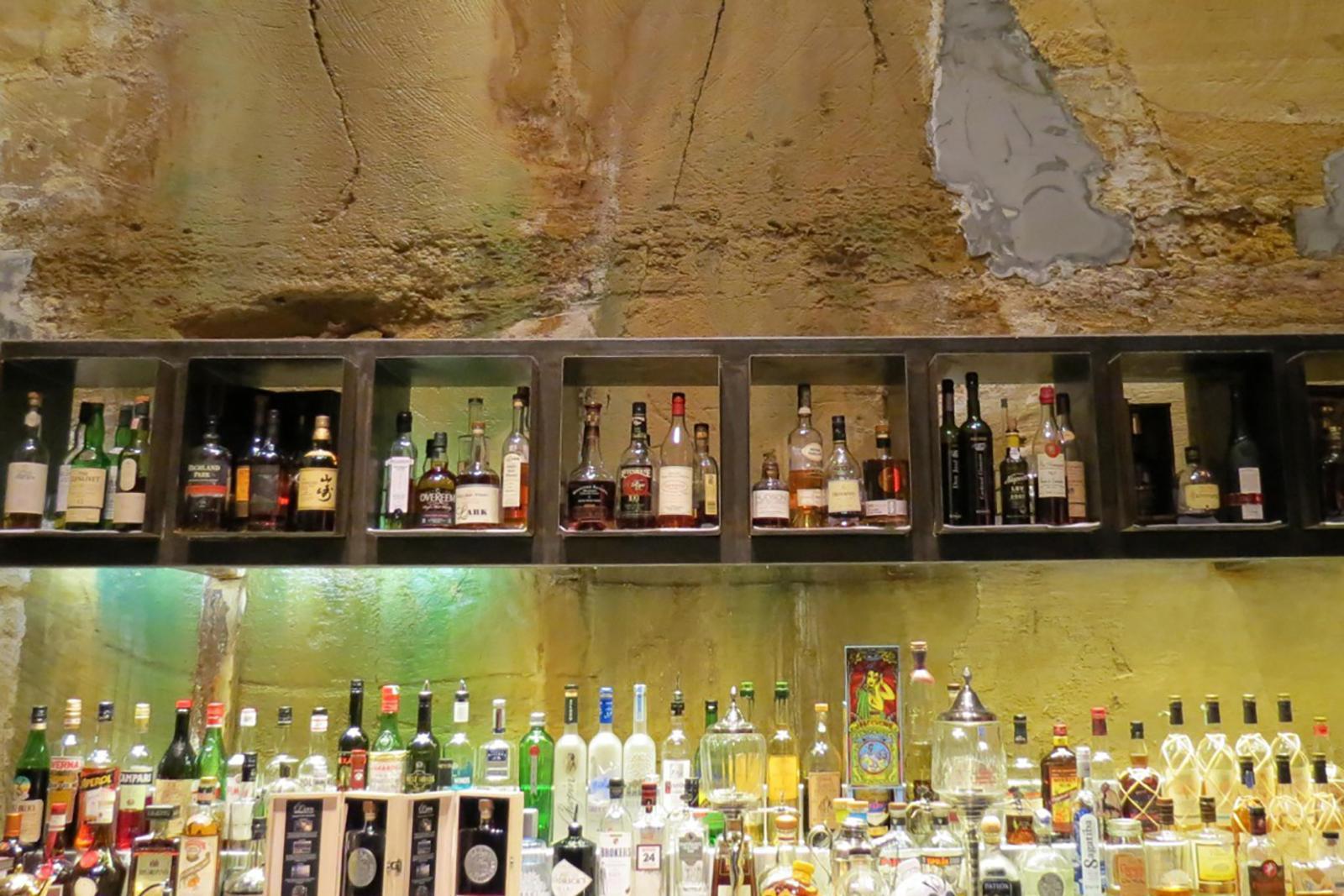The bar MONA in Hobart Tasmania