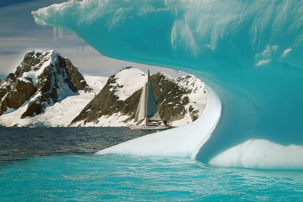 Melting Iceberg Antarctica