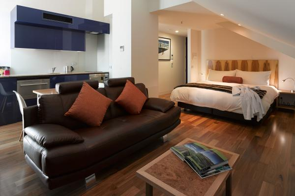 Accommodation Loft Penthouse Salamanca Wharf Hotel