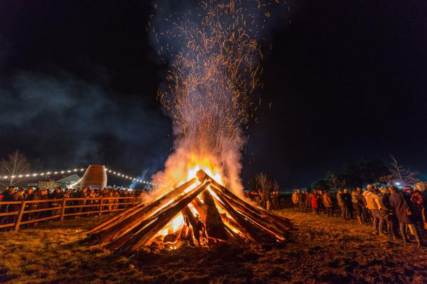 Huon Festival Bonfire