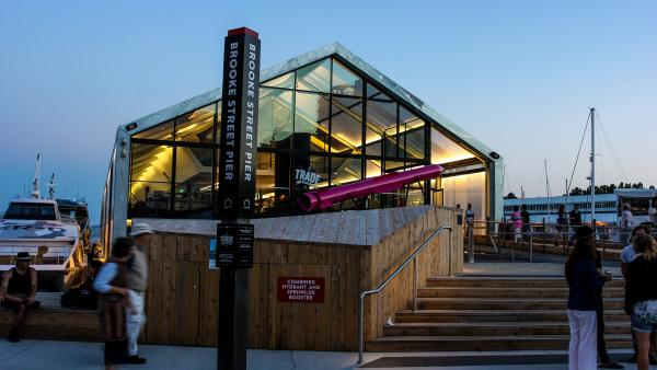 Brook Street Pier Hobart