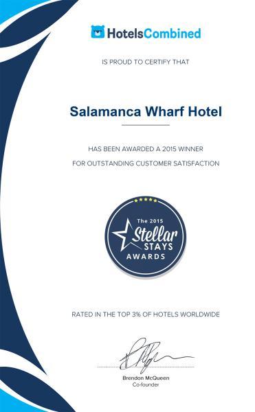 Steller Stays Winner Certificate