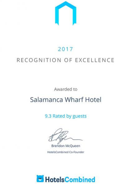 Hotel Combined Certificate
