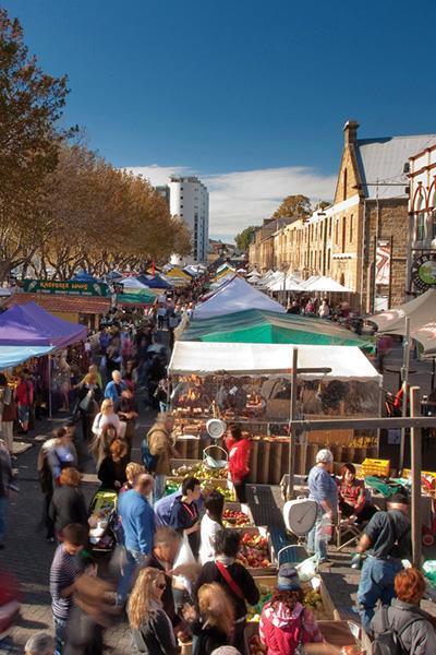 Salamanca Market in Hobart